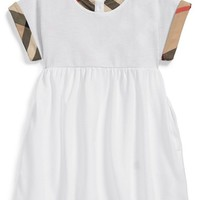 Infant Girl's Burberry 'Jen' Pique Dress