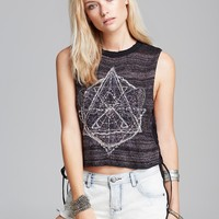 Free People Tank - Zodiac Embroidered
