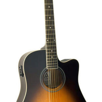 Hohner AS305CE-TSB Cutaway Dreadnought Acoustic-Electric Guitar