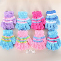 Multi-Color Unisex Kids Baby Warm Winter Gloves