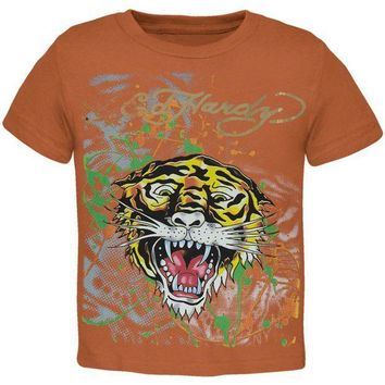 PEAPGQ9 Ed Hardy - Golden Tiger Juvy T-Shirt