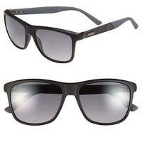 Men's Gucci 56mm Polarized Retro Sunglasses