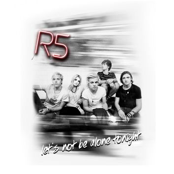 The R5 Let's Not Be Alone Tonight T-Shirt | R5 Rocks