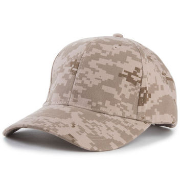 The Low Profile Dad Hat in Desert Digital Camo