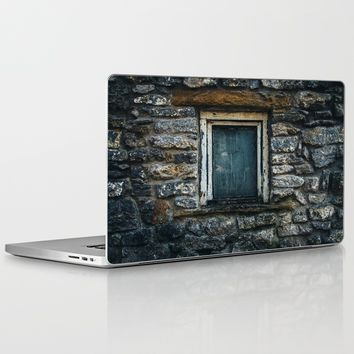 Who's That Peepin' In The Window? Laptop & iPad Skin by Mixed Imagery