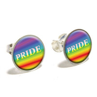 Rainbow Spectrum Pride - Gay Lesbian Earrings