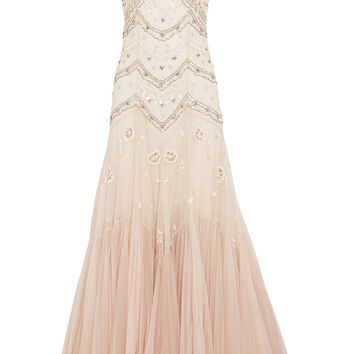 Needle & Thread - Embellished dégradé tulle gown