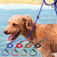 1pc Nylon Dog Strap Collar Dog Leash Training Leash Slip Lead Strap 3 Sizes Pet Accessories Pets Supplies s4