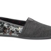 TOMS+ Camo Sequin Wool Women's Classics | TOMS.com
