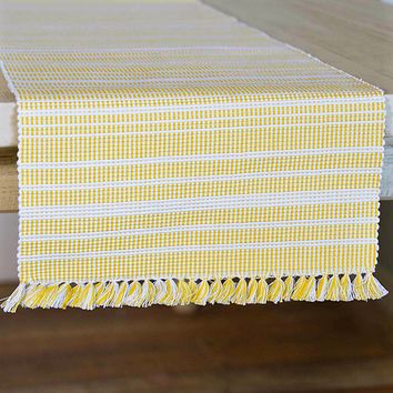 Madeline Yellow Table Runners