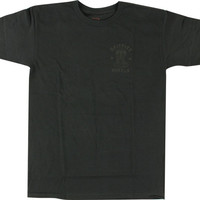 Spitfire Speed Kills Tee Small Black/Black