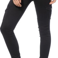 Almost Famous Black Skinny Cargo Pants