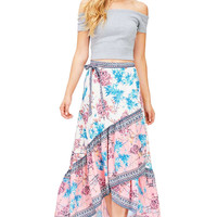 Floral Bliss Maxi Skirt