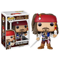 Pirates of the Caribbean Jack Sparrow Pop! Vinyl Figure