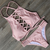 Hot Swimwear Bandage Bikini Sexy Beach Swimwear Women Swimsuit Bathing Suit
