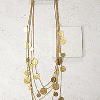 Soko Layered Coin Necklace