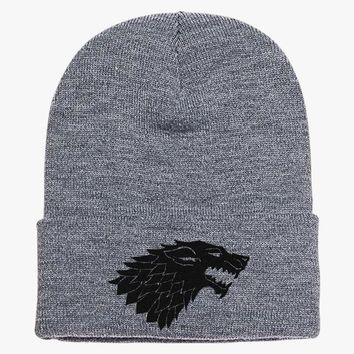 Game Of Thrones Wolf Knit Cap