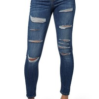 Topshop 'Jamie' Ripped High Rise Skinny Jeans | Nordstrom