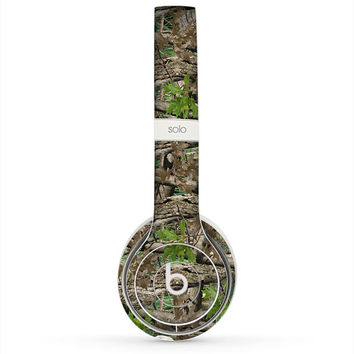 The Vibrant Real Woods Camouflage Skin for the Beats by Dre Headphones (All Versions Available)