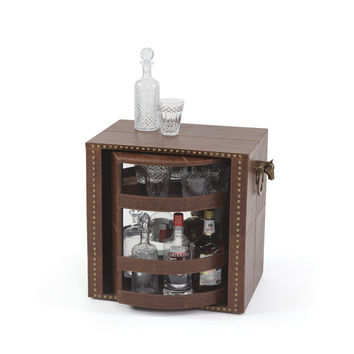 """Eclipse Home Collection Knightsman Rotating Bar 28"""" L  x 16"""" W  x 23.5"""" H"""