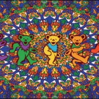 Grateful Dead Colorful Bears Tapestry