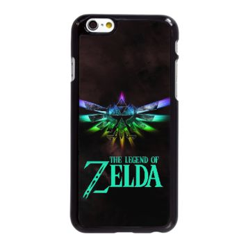 iPhone 7 Plus Cell Phone Case-black_The Legend Of Zelda Logo