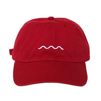 Logo Dad Hat (red)
