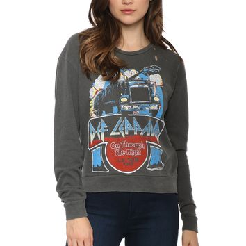 Junk Food Def Leppard Pullover
