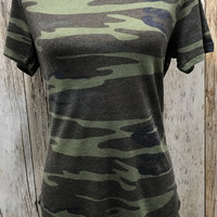 Z Supply The Ultimate Camo Tee