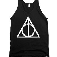 Deathly Hallows (Dark Vintage Tank Top) |