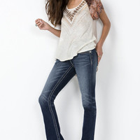 Fleur Fly Signature Boot Cut Jeans