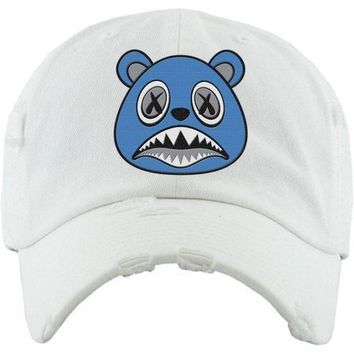 UNC BAWS White Dad Hat