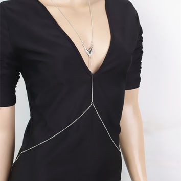 Sexy Metal Summer Body Chain Accessory [7241142983]