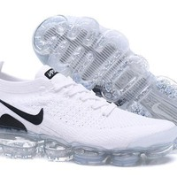 DCCK2 N340 Nike Air Vapormax Flyknit 2 Casual Running Shoes White