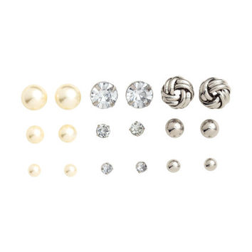 H&M 9 Pairs Earrings $5.99