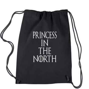 Princess In The North Drawstring Backpack