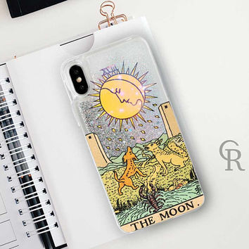 Tarot Glitter Phone Case Clear Case For iPhone 8 iPhone 8 Plus - iPhone X - iPhone 7 Plus - iPhone 6 - iPhone 6S - iPhone SE  iPhone 5
