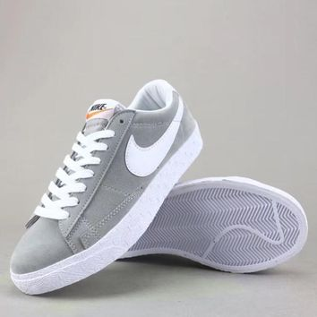 Wmns Nike Blazer Mid Sde Fashion Casual Low-Top Old Skool Shoes-4