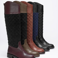 Quilted Riding Boot - VS Collection - Victoria's Secret