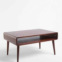 Danish Modern Coffee Table- Dark Brown One