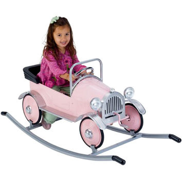 Rocker in Silver for Retro Pedal Cars