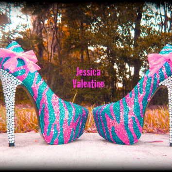 Barbie Girl Glitter Heels