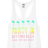 Spring Break Racerback Tank - PINK - Victoria's Secret