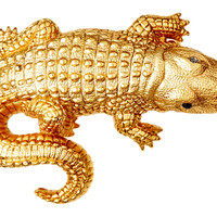 Chic Alligator Pin, Brooches & Pin/Pendants