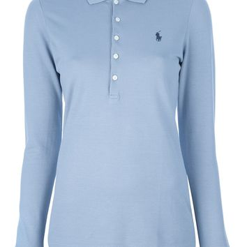 Ralph Lauren Blue Label Logo Long Sleeved Polo Shirt