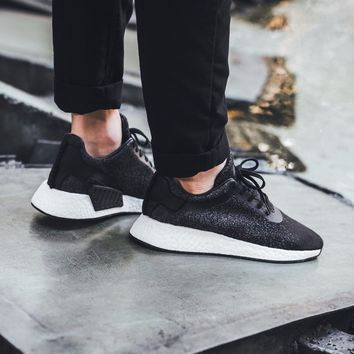 Adidas WINGS + HORNS X ADIDAS NMD_R2 Black Size 7 8 9 10 11 Men's Shoes CP9550