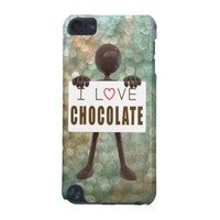 I Love Chocolate Stickman Sign iPod Touch 5G Case