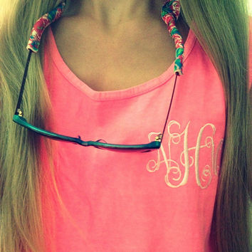 Monogrammed Comfort Colors Coverup Tank Top-SPRING BREAK!