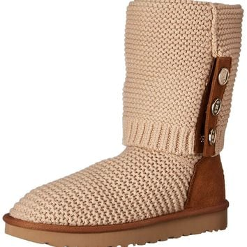 UGG Women's W PURL Cardy Knit Fashion Boot
