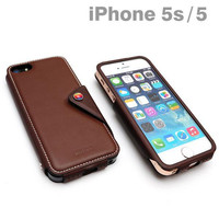 LIM's design MODERN CLASSIC EDITION Leather Case for iPhone 5s/5 (Brown)